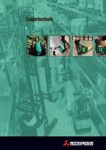Lagertechnik - Mitsubishi Forklift Trucks