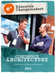 to download the prospectus - Education Changemakers