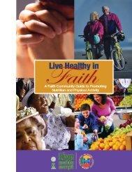 Live Healthy in Faith - Community Health Improvement Partners