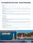 New England & Nova Scotia - John Hall's Alaska Tours - Page 3