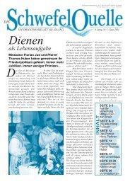 Schwefelquelle Nr. 5, September 2004 (2,2 MB)