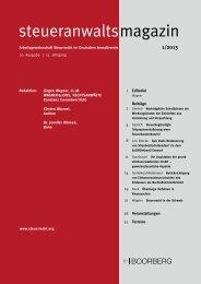 Überlange Verfahren in Finanzsachen, steueranwaltsmagazin 2013 ...