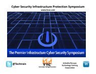 on Cyberspace Operations - Cyber Security & Infrastructure ...