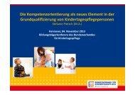 Präsentation des Manuals zum kompetenzorientierten ...