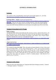 Prague info - INTEC EU-FP7 Project