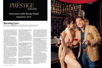 Prestige Hong Kong 2013 Rocky Patel Interview - Rocky Patel Asia