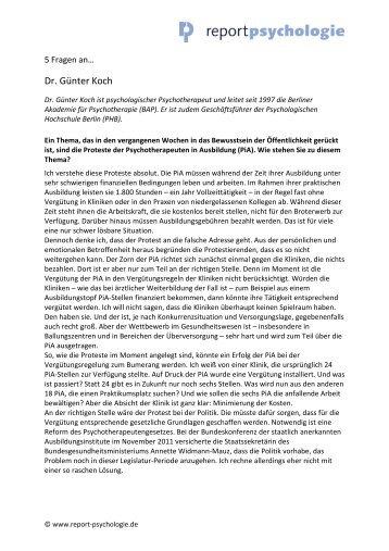 2-12-5 Fragen an Koch.pdf, Seiten 1-4 - Report Psychologie
