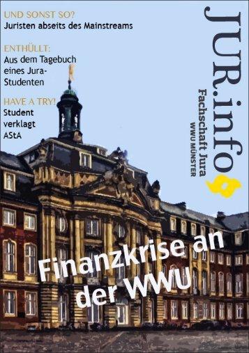 Jur.Info 2012-13.indd - Fachschaft Jura der Uni Münster