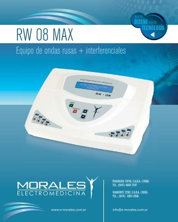 Descargar folleto - Electromedicina Morales