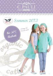 Sommer 2013 - Kissa Kinderwelten