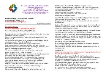 06462 1342; Fax: 06462 40 - eKg-Gladenbach