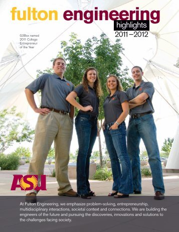 2011-2012 - Ira A. Fulton Schools of Engineering - Arizona State ...