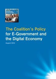 E-Government and Digital Economy - The Nationals