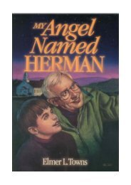My Angel Named Herman - Elmer Towns