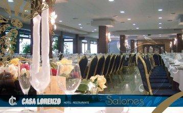 Folleto SALONES - Hotel CASA LORENZO