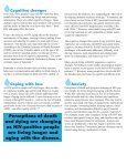 HIV and Aging in Canada: - Canadian AIDS Society - Page 2