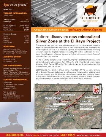 Download as pdf - Soltoro Ltd.