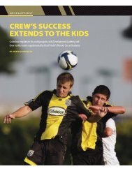 COVER_R2_Issue10.qxd:Layout 1 - Columbus Crew Youth ...