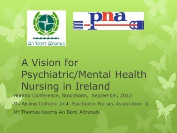 A Vision for Psychiatric/Mental Health Nursing - Psychiatric Nurses ...