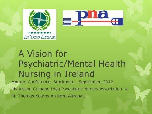 A Vision For Psychiatric Mental Health Nursing Psychiatric Nurses