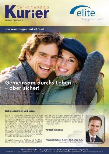 Ausgabe anzeigen - elite Management GmbH