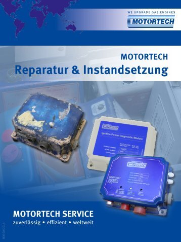Reparatur & Instandsetzung - Motortech GmbH