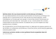Geleitete Schule: Die neue Zusammenarbeit von Schulleitung und ...
