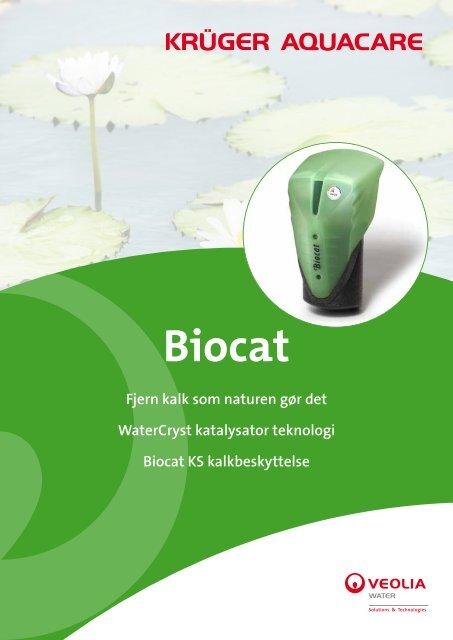 Biocat - fjerner kalk som naturen gør det - Krüger A/S