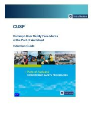 CUSP induction guide - Ports of Auckland