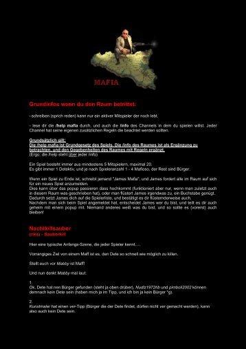 Grundinfos wenn du den Raum betrittst: Nachtkillsauber - Funpic.de