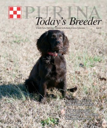 Today's Breeder - Purina Pro Club