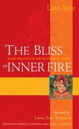 The Bliss of Inner Fire - Wisdom Publications