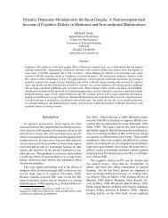 Dynamic Dopamine Modulation in the Basal Ganglia: A ...
