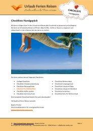 Download Checkliste Handgepäck - Urlaub-Ferien-Reisen