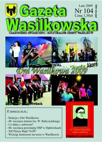 Numer 104 - Gazeta Wasilkowska - Wasilków
