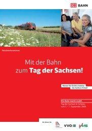 Download kompletter Zugfahrplan für den TdS - Tag der Sachsen ...