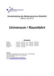 Universum / Raumfahrt - Medienzentrum Bielefeld