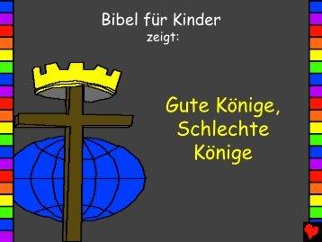 Good Kings Bad Kings German - Bible for Children