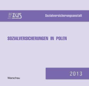 SOZIALVERSICHERUNGEN IN POLEN - ZUS
