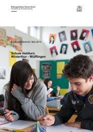 Schulevaluationsbericht 2013 (pdf) - Hohfurri