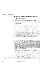 WIRTSCHAFTSTENDENZEN IN DER EU 1996 - Wifo
