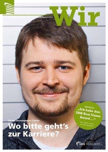 Download Wir - Ausgabe 3/2013 - SRH Hochschule Heidelberg