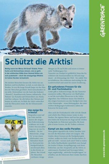 Schützt die Arktis! - Greenpeace