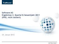 2010 - Software AG