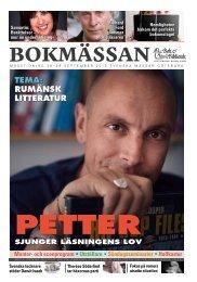 Mässtidningen 2013 (PDF-dokument, 18,6 MB) - Bok & Bibliotek