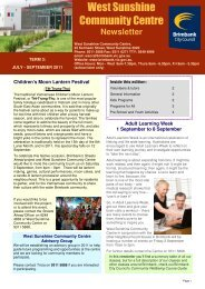 Newsletter draft 1 Term 3 2011.pub - Brimbank City Council