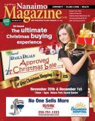November of 2013 - Nanaimo's Downtown Magazine