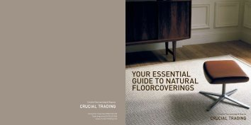 your essential guide to natural floorcoverings - Hudson Flooring