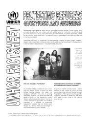 Protecting Refugees - unhcr