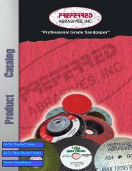 View our Full catalog - Preferred Abrasives